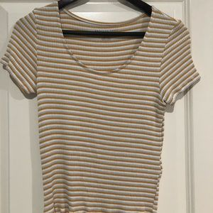 American Eagle striped t shirt